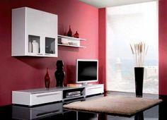 Home Interior Design Red Color