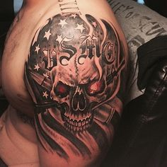 awesome Top 100 usmc tattoos - http://4develop.com.ua/top-100-usmc-tattoos/
