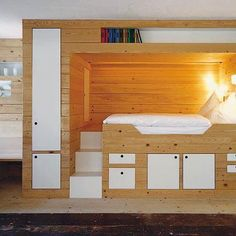 LOFT BED SAVES SPACE UNDER