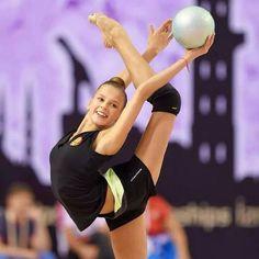 Alexandra Soldatova Rhythmic Gymnastics Training