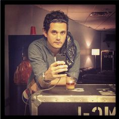 John Mayer - Posted to Instagram by John 8.9.13 - The day I saw him perform! :)