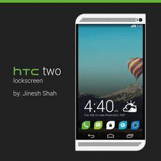 Here is a HTC Two (HTC One successor) render with Sense 6 and KitKat