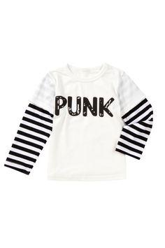 Punk Long Sleeve Tee