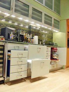 Love the kitchen Aid storage!  Traditional | Entryways | Van Tullis : Designer Portfolio : HGTV - Home & Garden Television#//style-traditional