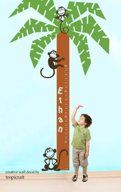 Tree with Monkeys Growth Chart