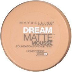 Maybelline New York Dream Matte Mousse Foundation, Honey Beige, 0.64 Oz