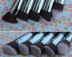 Kit de pincéis de maquiagem Alta Precisão Pink Gloss