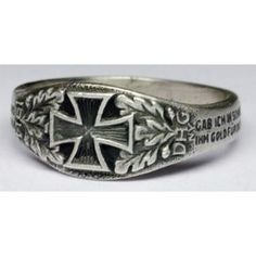 The Iron Cross Ring of the year 1914 - German rings and other Nazi ...