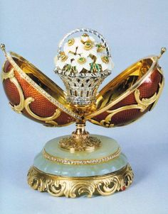 Faberge Egg Art / Ideas️ :More At FOSTERGINGER At Pinterest