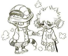 Meruem and Komugi ~Hunter X Hunter  This is criminally cute~