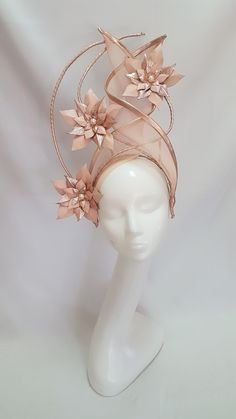 Millinery By Mel hats headpieces Fancy Hats, Cool Hats, Headdress, Headpiece, Millinery Hats, Sinamay Hats, Halloween Headband, Fashion Accessories, Hair Accessories