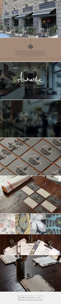 Dinette - Restaurant Branding on Behance... - a grouped images picture - Pin Them All