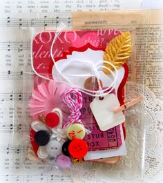 Valentine's Romance Project Life Kit | Vintage Scrap Shop