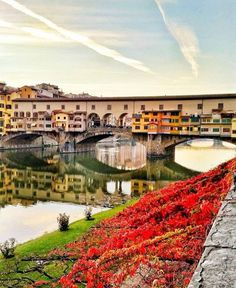 Reflections of Ponte Vecchio Florence