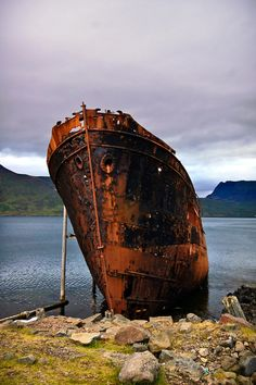 Very cool shipwreck.