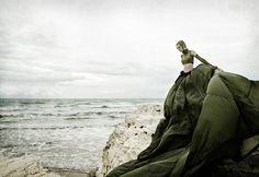 Nautilus (by FleurDelacour) [green parachute dress] [ocean]