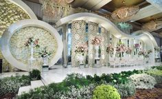 Ivan & Susy by Lotus Design - 017 Reception Stage Decor, Wedding Reception Backdrop, Wedding Stage Decorations, Wedding Mandap, Ceremony Backdrop, Flower Decorations, Wedding Table, Altar Decorations, Wedding Ideas