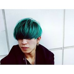 WEBSTA @ xxlll_xxlll - #マッシュ #毒キノコ #原宿 #髪 #美容師 #オシャレ #奇抜 奇抜カラー #秋 #マニックパニック #fashion #hair #green