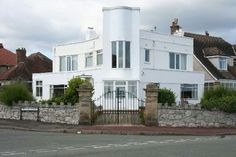 Six-bedroomed 1930s art deco property in Rhos-on-Sea, Colwyn Bay, North Wales