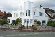 Six-bedroomed 1930s art deco property in Rhos-on-Sea, Colwyn Bay, North Wales
