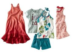 Loving the idea behind these wardrobe collections from Tea Clothing @BabyCenter #toddler #bigkids #clothes #summer
