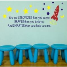Quote for child's playroom or bedroom