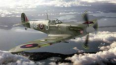 Spitfire MkV of the 303 squadron