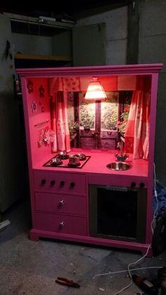 Play kitchen made bij Renate