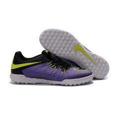 cheap for discount 6d176 8016d Meilleur Nike Hypervenom Phelon II TF Chaussures de football Violet Blanc