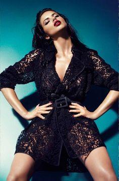 Adriana Lima | Blumarine | AW11