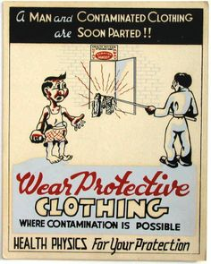Wear protective clothing when contamination is possible | www.eklectica.in
