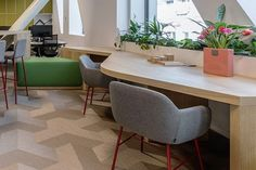 Morphoza has designed a new office environment for the CBRE's team in Romania and we are very proud to be part of this… Office Environment, Romania, Interior Inspiration, Office Desk, Dining Table, Goals, Furniture, Instagram, Design