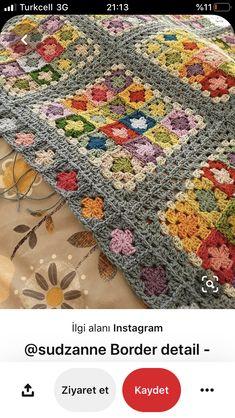 Plaid Crochet, Crochet Quilt, Crochet Blocks, Cute Crochet, Crochet Motif, Crochet Designs, Crochet Crafts, Crochet Stitches, Granny Square Crochet Pattern