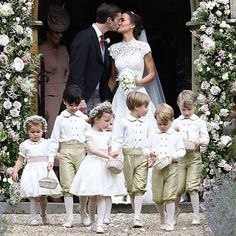 Pippa Middleton Is Married - See Her Wedding Photos Here!: Photo Pippa Middleton is officially a married woman after tying the knot with hedge fund manager James Matthews! The socialite and younger sister of the… Kate Middleton, Pippa Middleton Wedding Dress, Middleton Family, Pippas Wedding, Wedding Dresses, Wedding Ceremony, Wedding Flowers, Wedding Outfits, Wedding Season