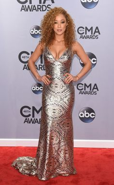 Chaley Rose from 2014 CMA Awards Red Carpet Arrivals   E! Online