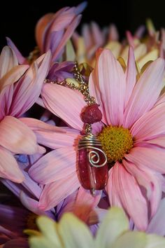 Check out this item in my Etsy shop https://www.etsy.com/listing/219004218/fuchsia-mini-roxanne-with-wire-wrapped