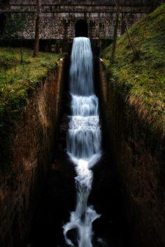 """Guiding Line"" Covadonga, Spain - by David Alvarez Velicia David Alvarez, Shutter Speed, Tripod, Waterfalls, Lakes, Nature, Spain, Paintings, Outdoor"