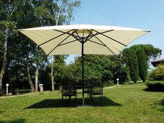 Parasol KRONOS Telescopique UV50+ Polyester 300x300/8 cm au meilleur prix ! - LeKingStore