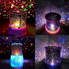 Novelty Led Night Light Table Lamps For Bedroom Amazing sky star projector home decor Lighting Baby children Kids Sleeping Lamps. | wonderfestgifts.com