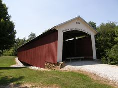 Covered Bridges in the state of Indiana - Hillsdale