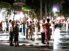 In Mexico they have dance clubs where they do a lot of rumba...Danzon