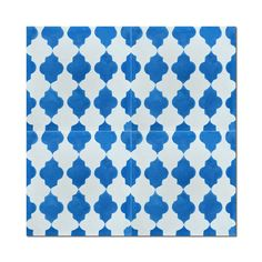 Pack of 12 Tafrout Blue Handmade Cement and Granite 8-inch x 8-inch Floor and Wall Tile (Morocco)