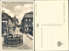 Bad Windsheim - Schöner Brunnen und Kegelstrasse - Foto-AK 40er Jahre - Verlag Heinrich Delp Bad Windsheim (E4370y) ...