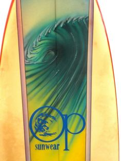 OP Airbrushed Surfboard, 1970s at 1stdibs