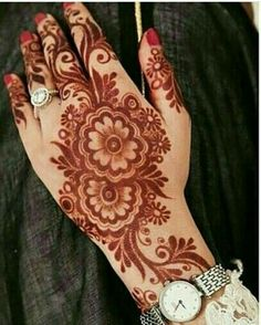 Henna Tattoo Designs Gallery - Wedding Henna Designs for Brides Images collection. this is new collection wedding henna tattoo designs for bride Khafif Mehndi Design, Arabic Henna Designs, Mehndi Designs 2018, Stylish Mehndi Designs, Mehndi Designs Book, Bridal Henna Designs, Mehndi Designs For Girls, Mehndi Design Photos, Mehndi Designs For Fingers