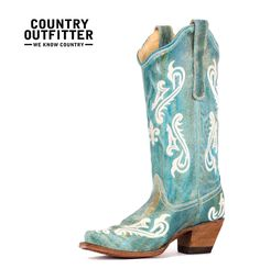 {Bestseller #4} http://www.countryoutfitter.com/products/27505-womens-turquoise-cortez-cream-fleur-de-lis-boot-r1973  #cowgirlboots