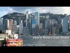 Hong Kong Ferry Views - A Travel Video - as part of the travel series by GeoBeats. Travel Videos, Culture Travel, Hong Kong, New York Skyline, Cultural Trips