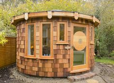 4.5m Timber roundhouse designed and built in the UK by Rotunda Living