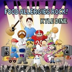 This upbeat album is perfect for kids with food allergies. Kyle Dine makes food allergies fun and engaging with his songs that empower and support kids with food allergies. Get your feet stomping and your hands clapping for these amazing sing-along songs! Kids Allergies, Sing Along Songs, Allergy Asthma, Back To School Essentials, Music For Kids, Kids Meals, Free Food, Activities For Kids, Food To Make