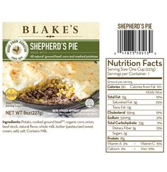 Shepherd's Pie. Seriously the best frozen dinner I've ever tried.